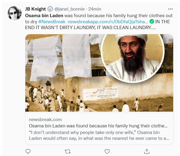 """Osama bin Laden detalles: """"Sólo debes casarte con cuatro esposas"""""""