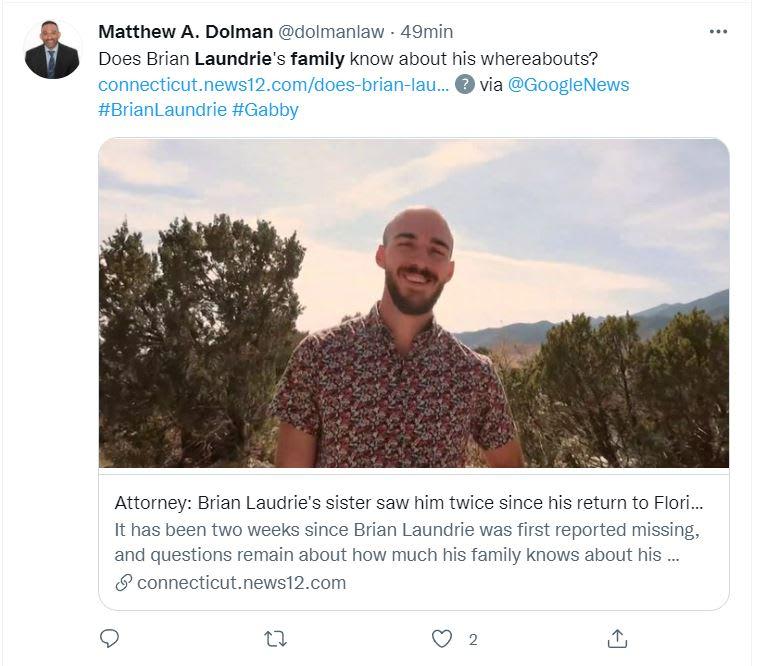 Hermana Brian Laundrie sospechosa: Las últimas noticias