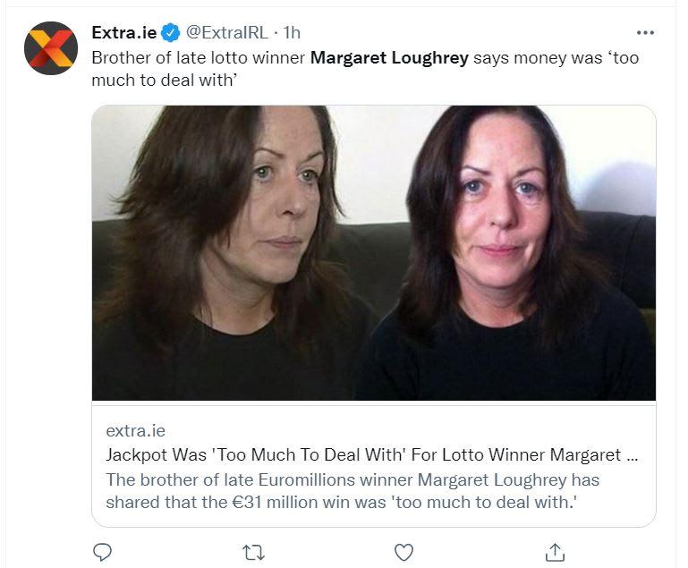"""Margaret Loughrey muerte: """"Antes era una persona feliz"""""""