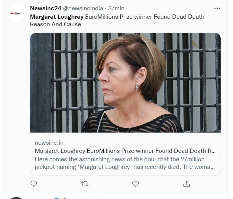 """Margaret Loughrey muerte: """"Un infierno"""""""