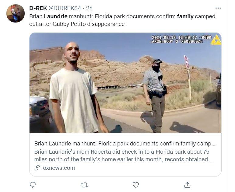 Hermana Brian Laundrie sospechosa: Las reuniones familiares