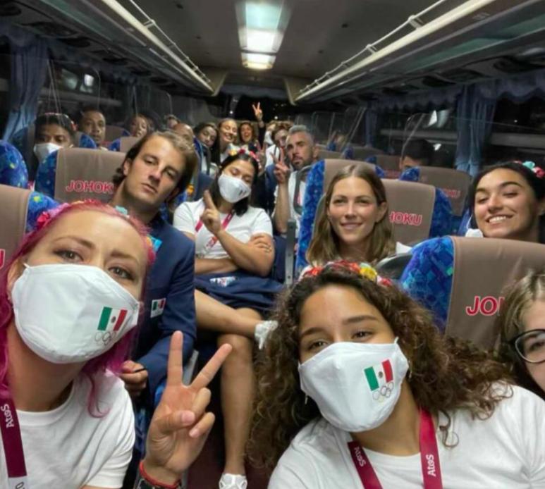 Los mexicanos rumbo a los Juegos Olímpicos Tokio
