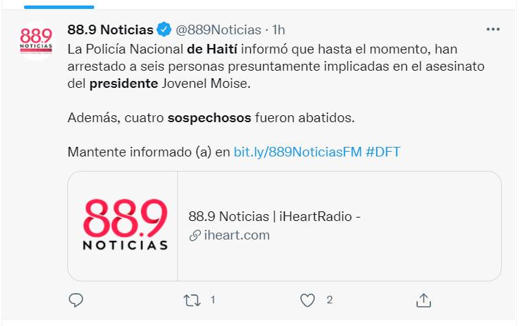 estadounidenses asesinato presidente Haití: El Director de la policía habla