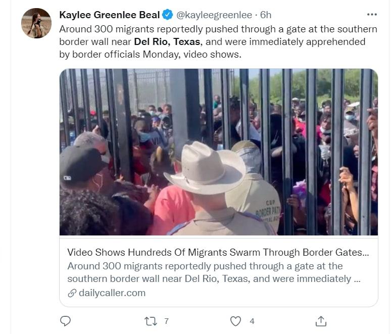 Son cifras alarmantes de migrantes, en ese punto de la frontera