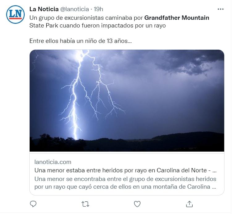 """""""Me escondí en la tormenta"""""""