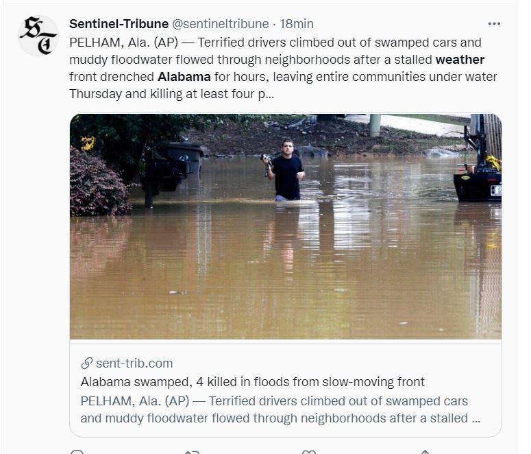 Más de ochenta personas fueron rescatadas
