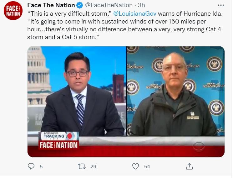 Huracán Ida Luisiana impacto: Las palabras de John Bel
