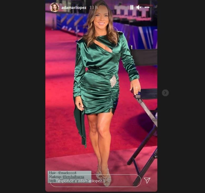 Adamari López alfombra roja Billboard Latin Music Awards: Adamari López enamora a sus fans