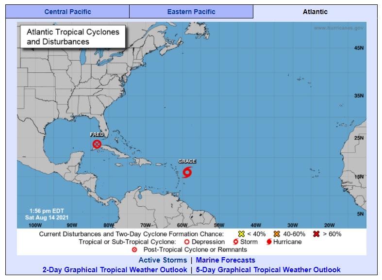 Tres tormentas en simultáneo toman fuerza por el Atlántico y el Pacífico