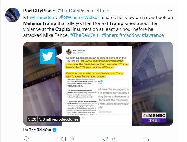 """Grisham acusación Melania Trump: El """"No"""" de Melania Trump"""