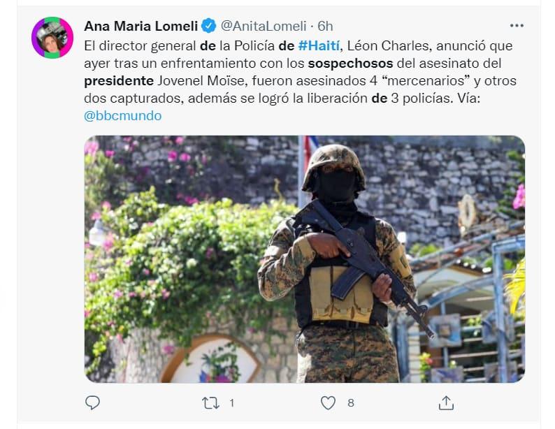 estadounidenses asesinato presidente Haití: El segundo detenido