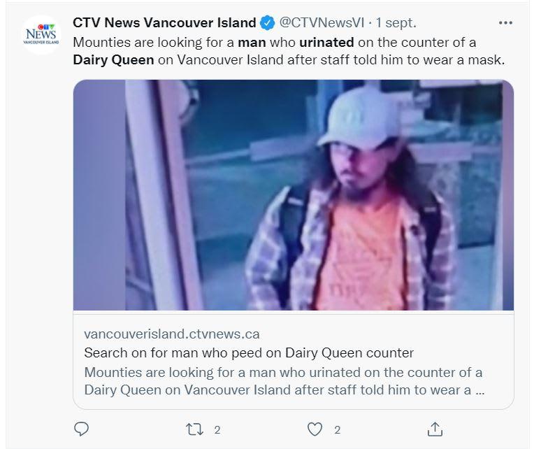 Dairy Queen Pee Man: The Incident