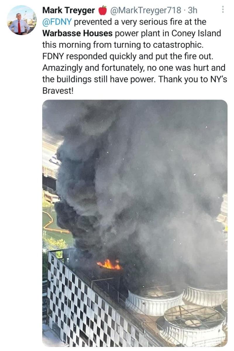 Incendio Masivo Nueva York, Warbasse Houses