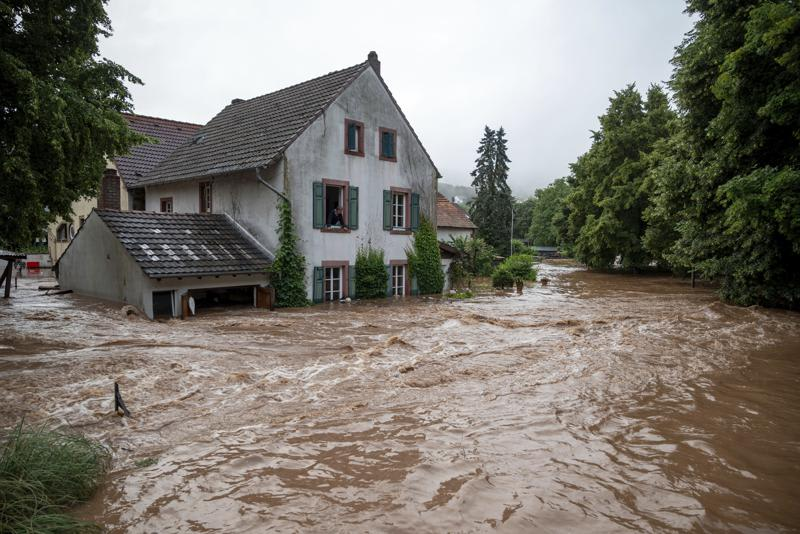 muertos inundaciones