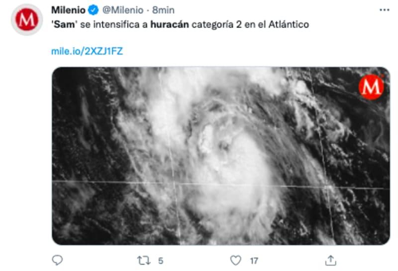 huracán sam