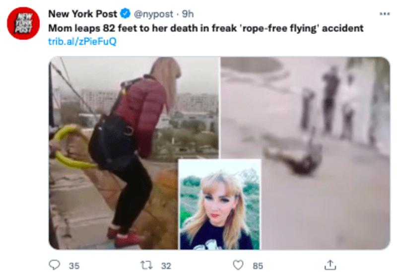 mother dies