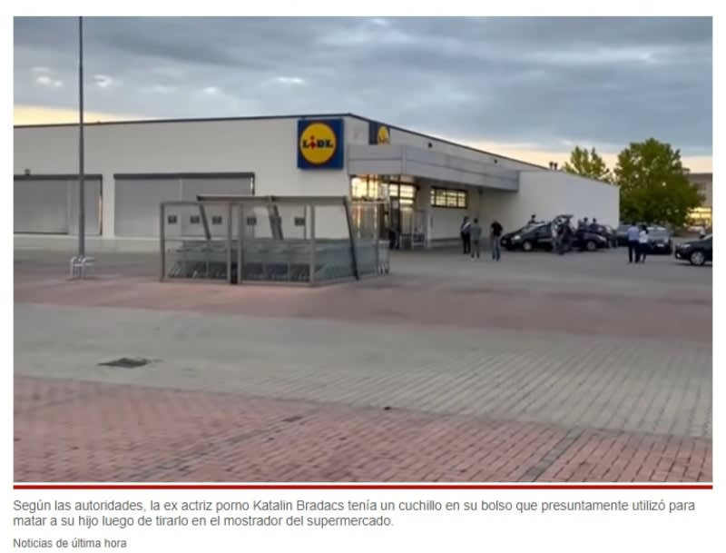 Katalin Bradacs mata hijo mostrador supermercado: Fue arrestada inmediatamente