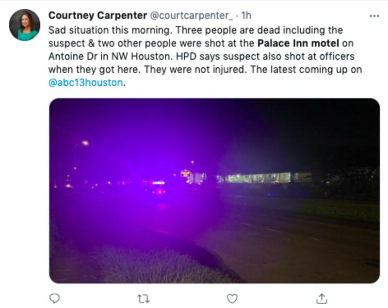 tiroteo motel texas