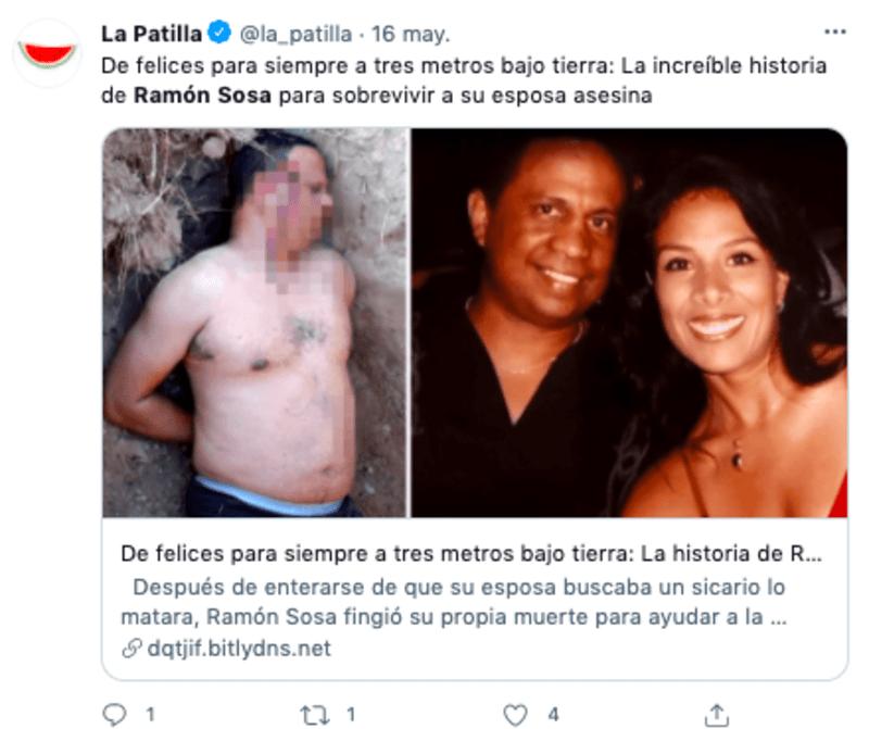 hispano finge muerte