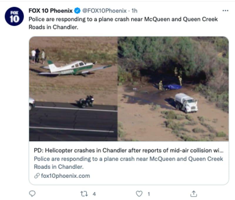 accidente aeropuerto