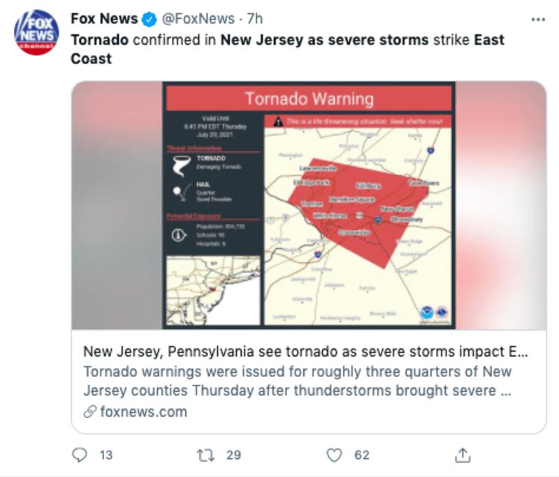 advertencia tornados