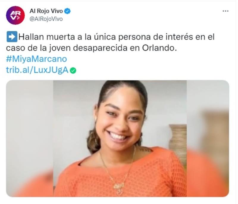 Confirman que el cuerpo hallado en Florida es el de la hispana Miya Marcano