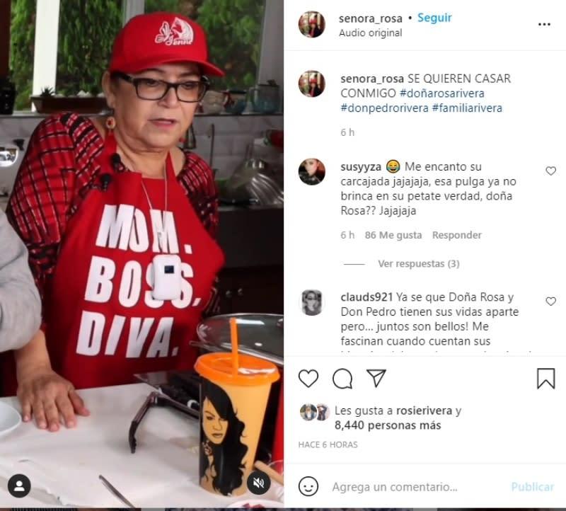 Señora Rosa se casa Pedro Rivera: ¿Se casa la madre de Jenni Rivera?