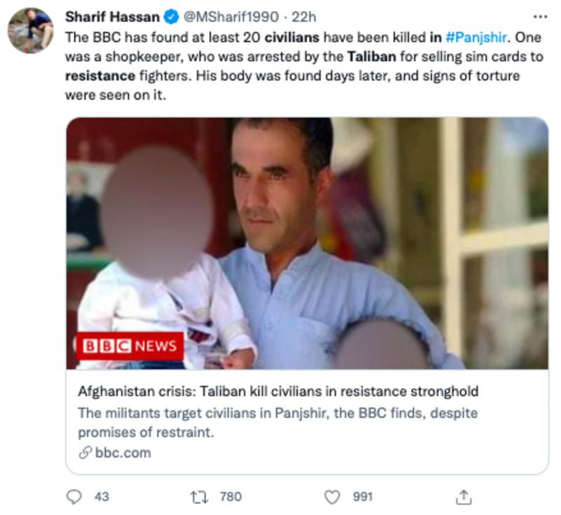 Taliban Execute Afghans