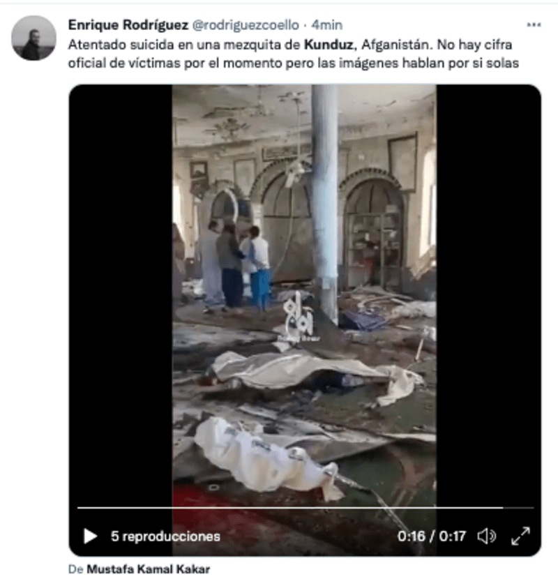 mosque explosion
