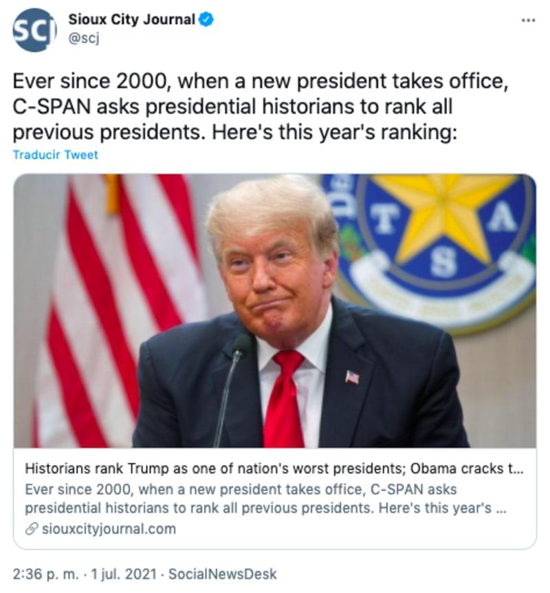 among the worst US presidents