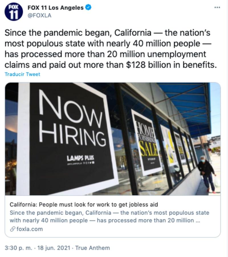 Empleadores no encuentran personas para trabajar