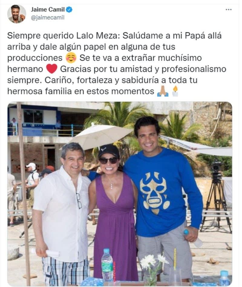 Muere productor Eduardo Meza: Reaccionan las celebridades