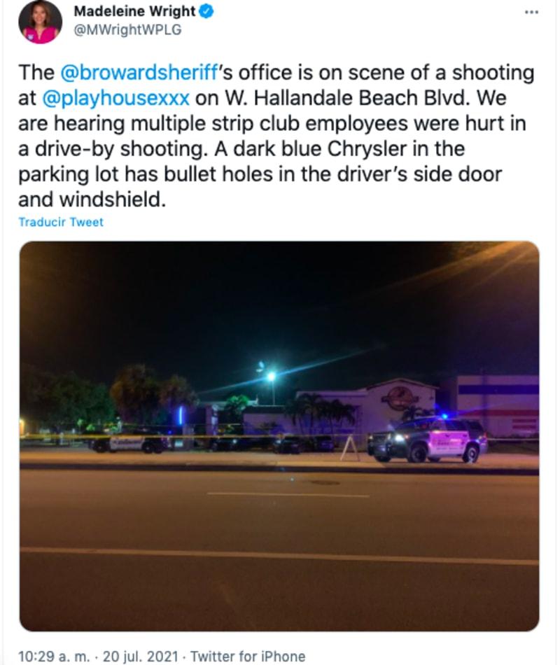 tiroteo deja 3 heridos