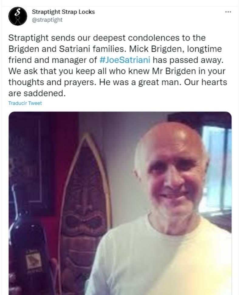 "Rolling Stones manager Mick Brigden dies: ""Mick had a unique skill set"""