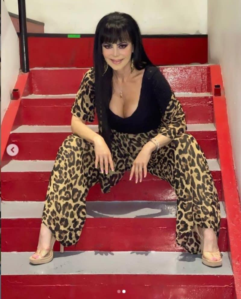 "Maribel Guardia presume abdomen: ""Que hermosa tigresa"""