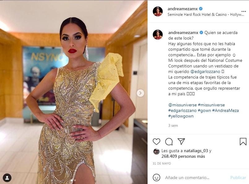 La imagen de la Miss Universo