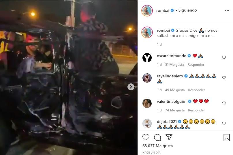 Cantante hispano sufre terrible accidente pero lo acusan de mentiroso Fer Vázquez Rombai
