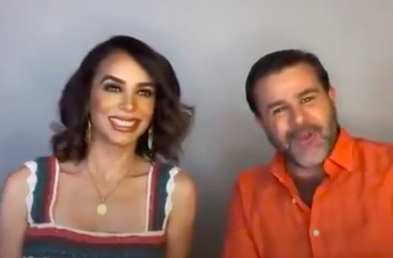 Biby Gaytán y Eduardo Capetillo comparten secreto