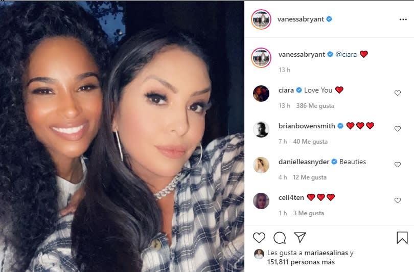 Vanessa Bryant parece estar superando la muerte de su esposo Kobe Bryant