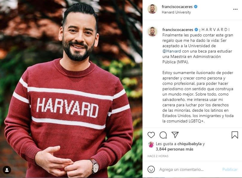 Francisco Cáceres deja Telemundo y revela inesperada razón