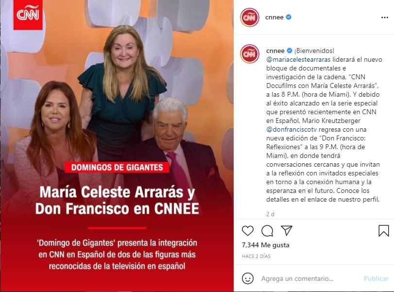 María Celeste rechazo, llegada a CNN no fue bien recibida por internautas