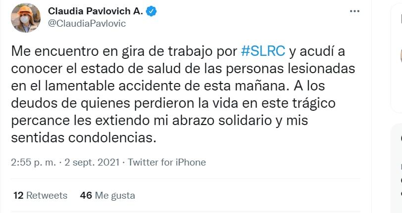 La declaración de la Gobernadora de Sonora