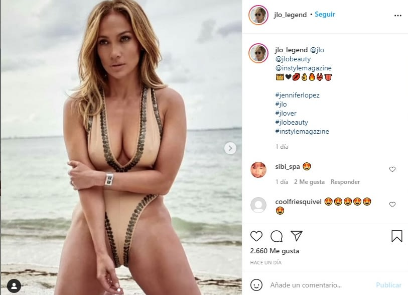 Jennifer López JLo traje de baño 2