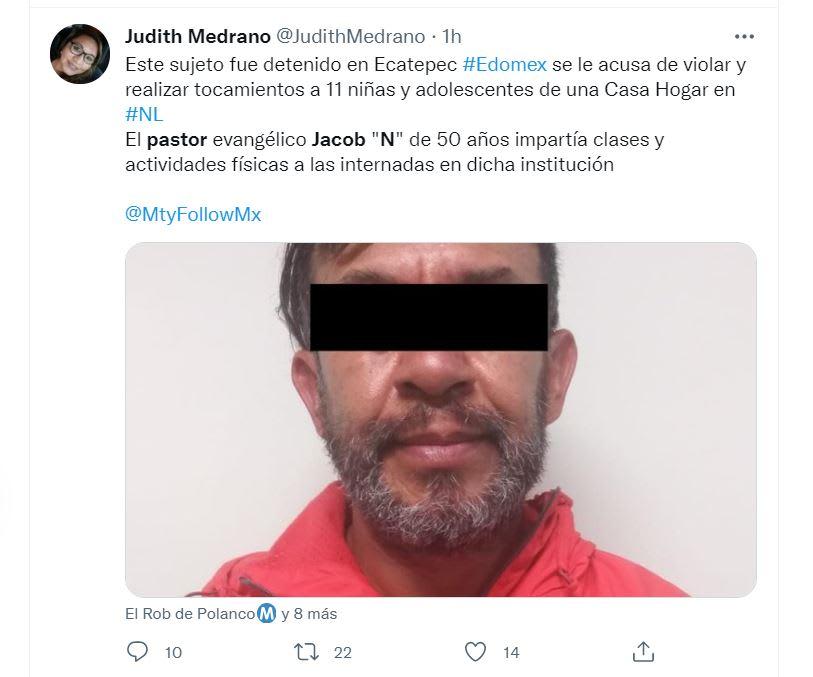 Ya fue entregado a las autoridades de Nuevo León