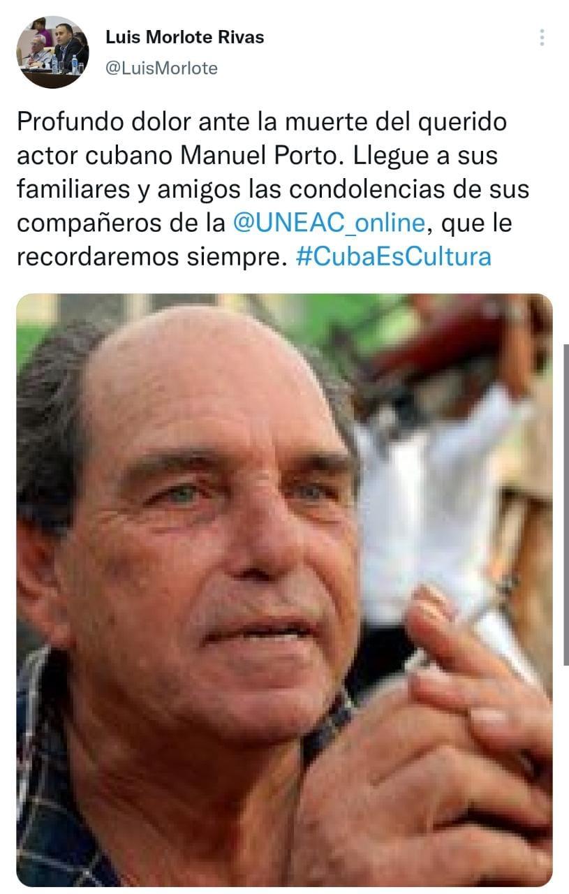 Así sentía el actor cubano antes de su muerte en su propio cumpleaños