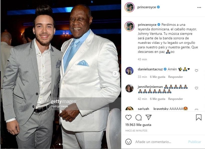 """Muere Johnny Ventura: """"Perdimos a una leyenda dominicana"""""""