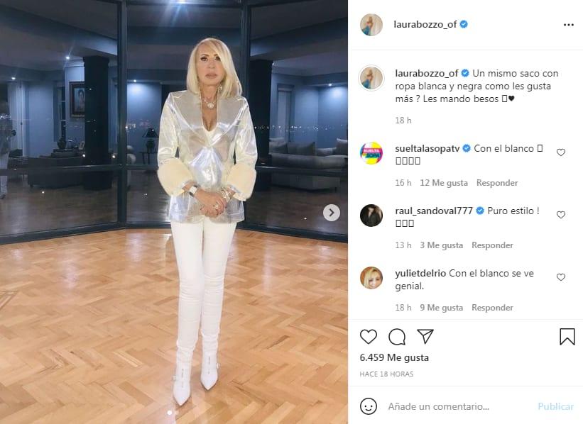 Laura Bozzo responde críticas y se muestra con nuevo look