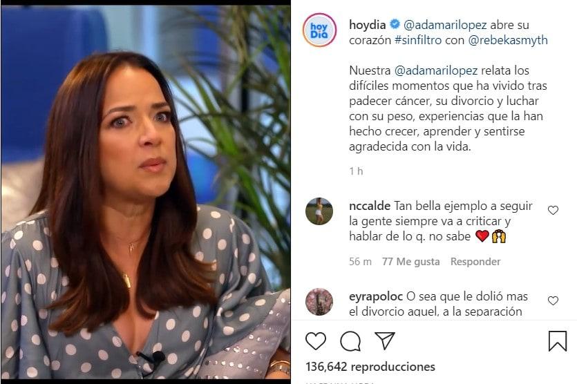Adamari López cuenta la verdad sobre su pérdida de peso en Hoy Día
