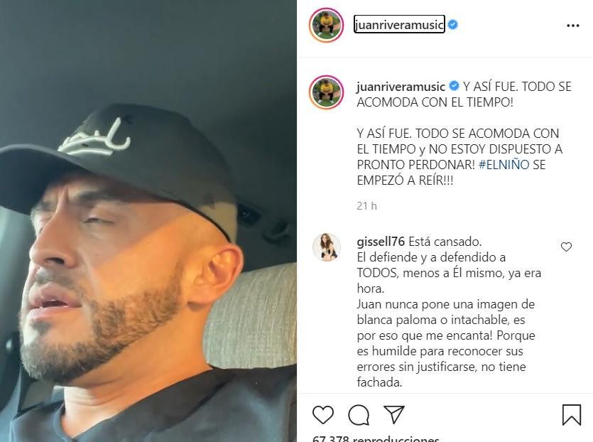 Juan Rivera amenaza a su hermano Lupillo Rivera y este responde con burla