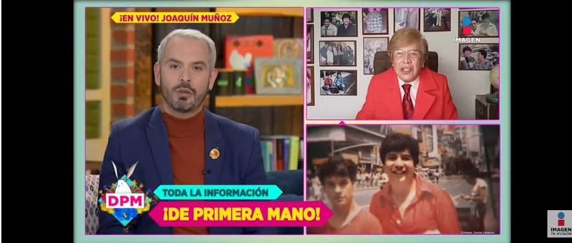 Juan Gabriel vacuna coronavirus Joaquín Muñoz ex manager 3